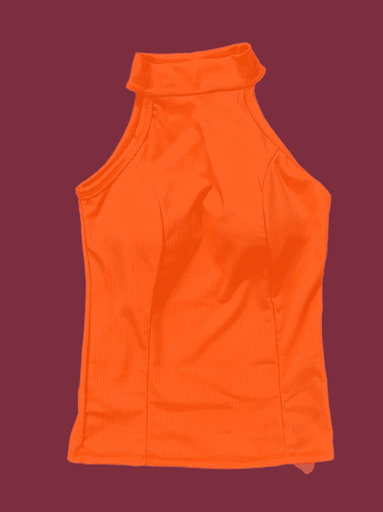 Blusa malha com bojo