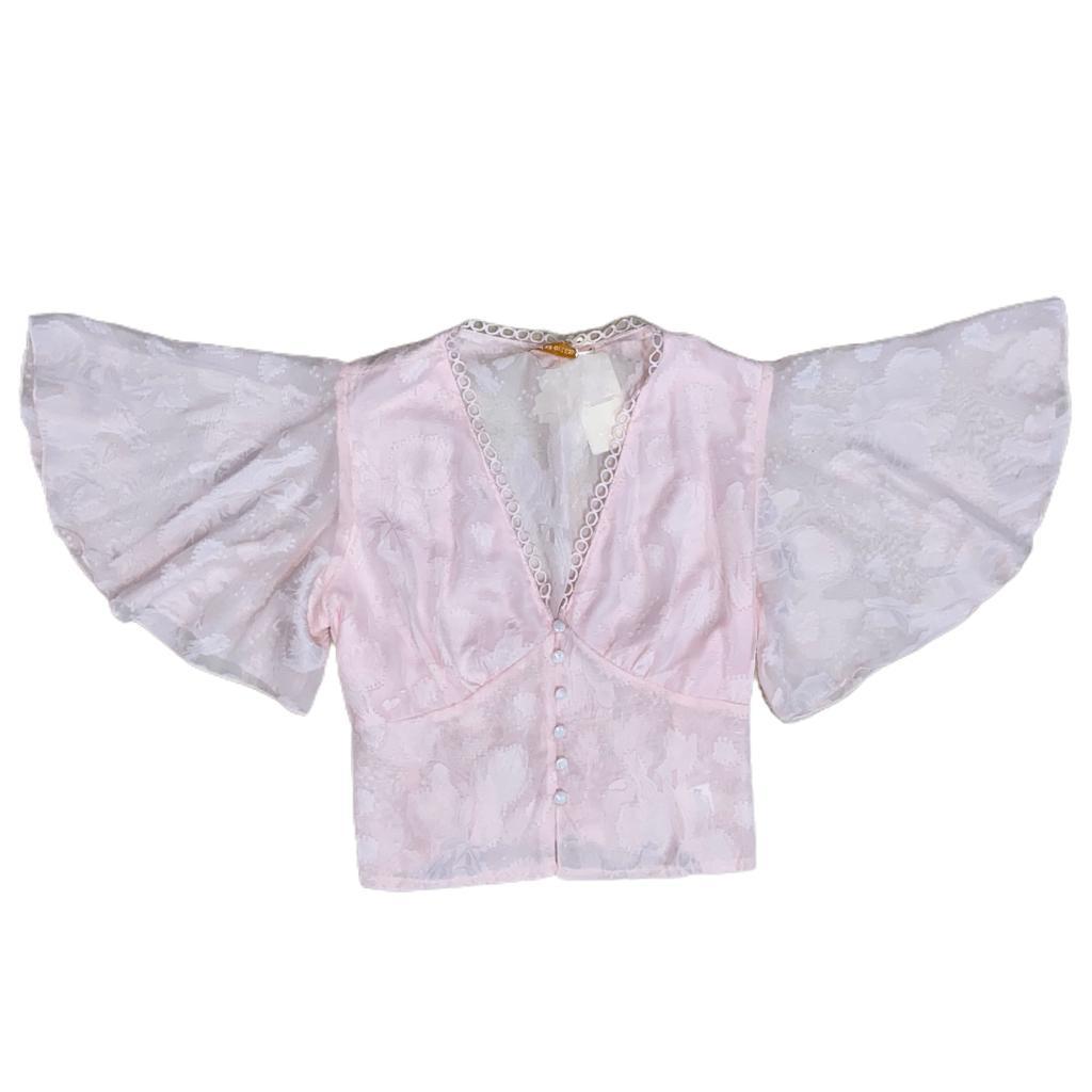 Blusa manga morcego