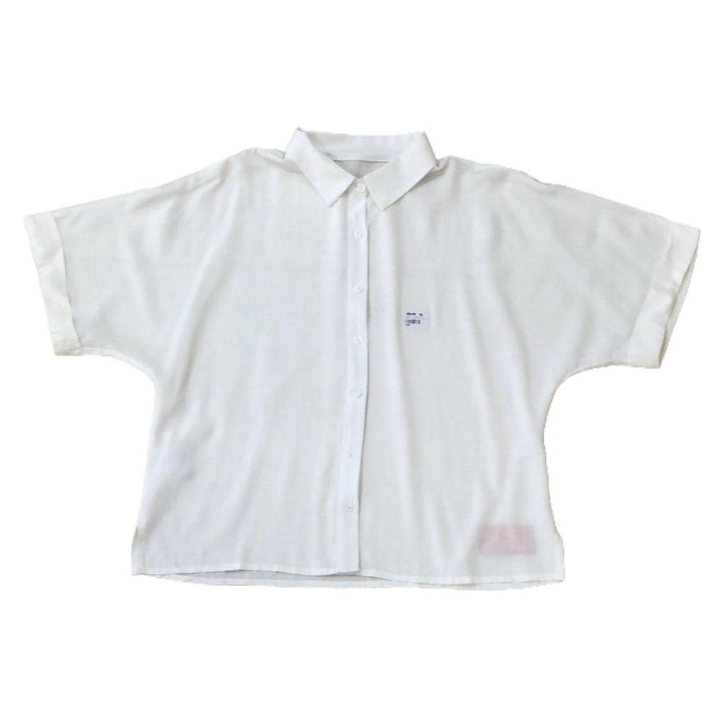 Camisa viscose linen ampla mng barra italiana