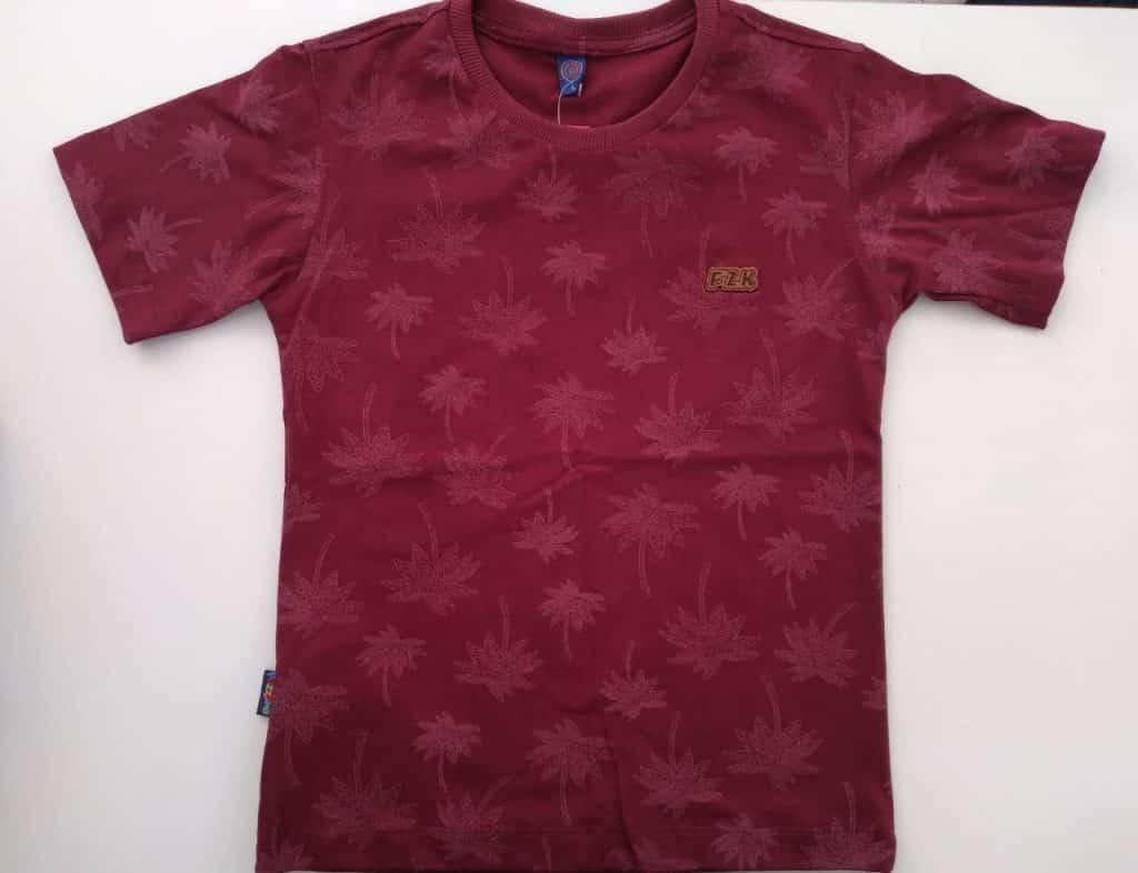 Camiseta algodão coqueiro