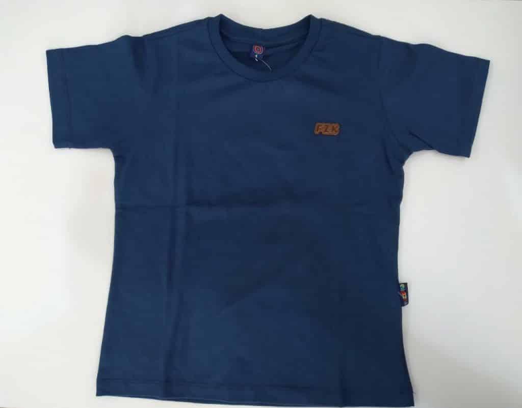 Camiseta algodão lisa