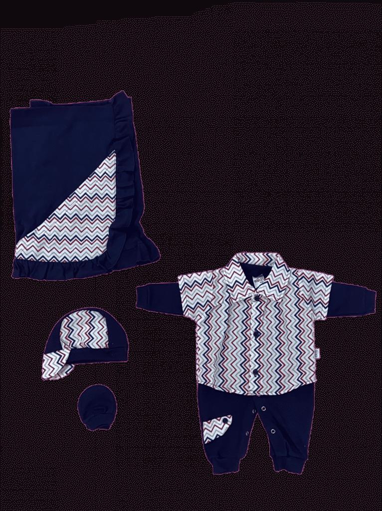 Saia da maternidade camisa  C/ 5 peças sd caixa