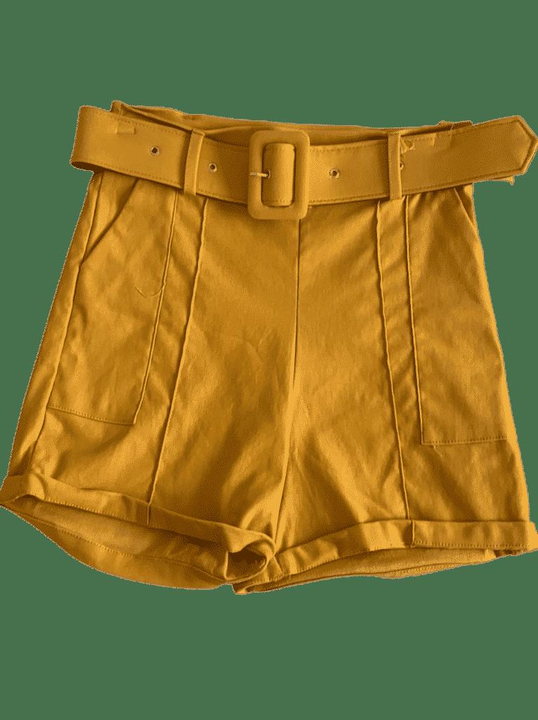 Shorts bengaline cinto