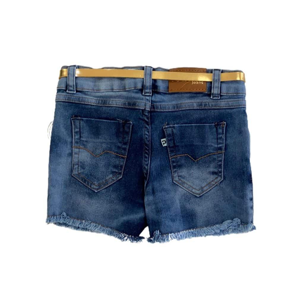 Shorts fem c/ elastano do 4 ao 10