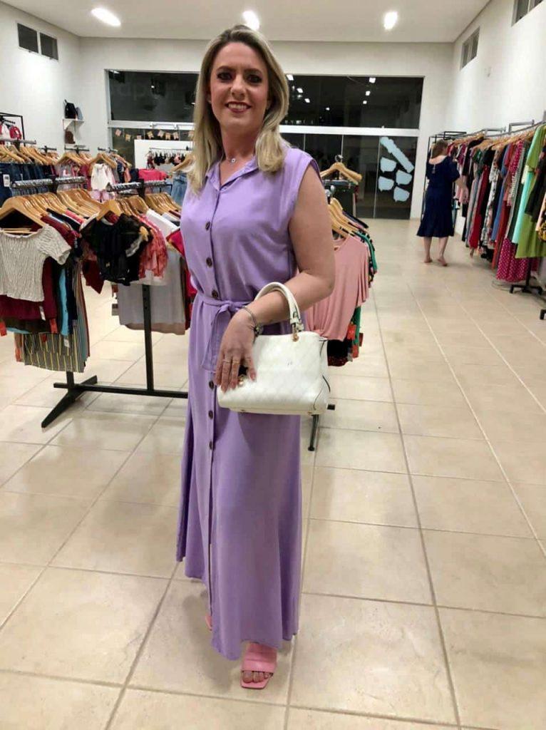 Vestido longo Valentina
