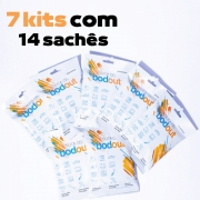 7 Kits com 14 sachês de Sílica gel bodout
