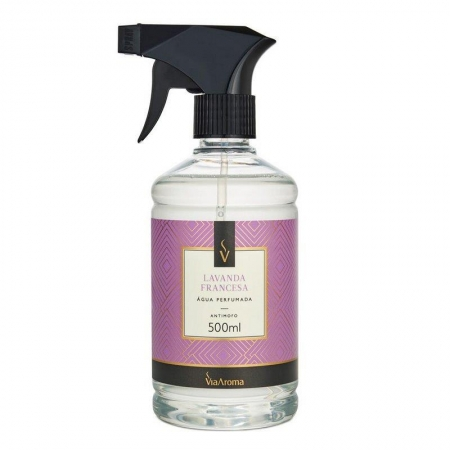 Água Perfumada para Tecidos Lavanda Francesa - 500ml