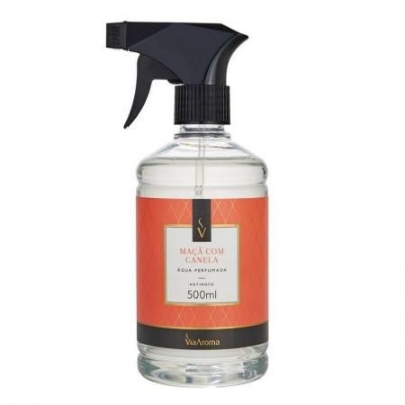 Água Perfumada para Tecidos Maçã com Canela - 500ml