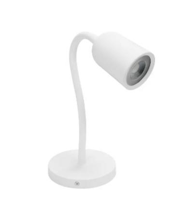 Arandela de Leitura Clean abs+pc 5W bivolt LED 6.500K - Branco