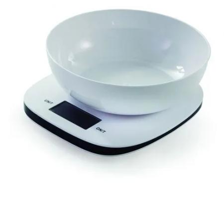 Balança Digital Bowl Branca 5Kg