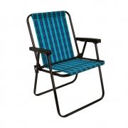 Cadeira de Praia Marine Azul MOR