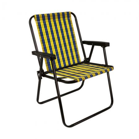 Cadeira de Praia Xadrez Mel MOR