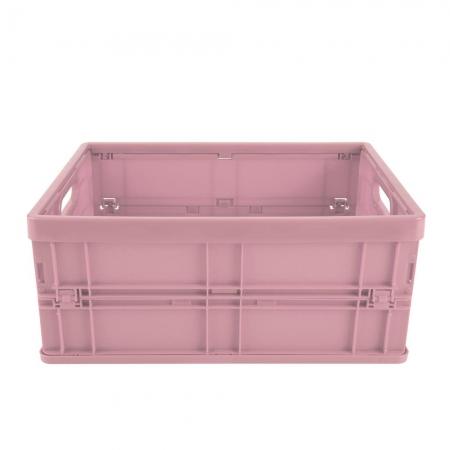 Caixa Dobrável Grande Rosa