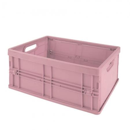 Caixa Dobrável Pequena Rosa Antigo