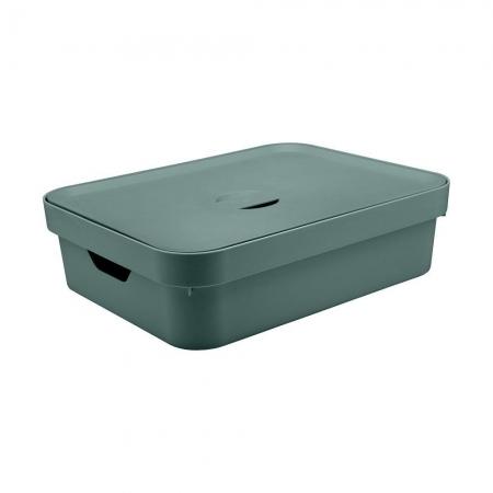 Caixa Organizadora com tampa Grande Baixa Verde