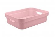 Caixa Organizadora Cube P Baixa Rosa Quartz