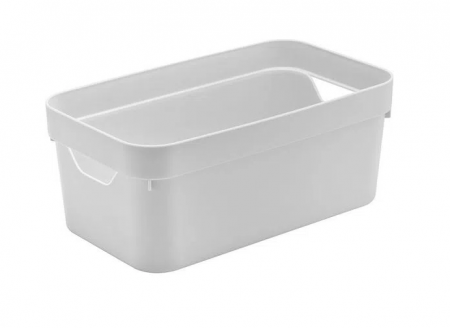 Caixa Organizadora Cube P Branca