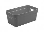 Caixa Organizadora Cube P Chumbo