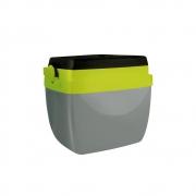 Caixa Térmica 12L Cinza com Verde