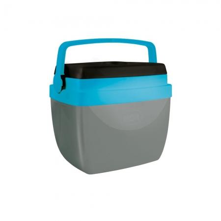 Caixa Térmica 12L cinza e azul