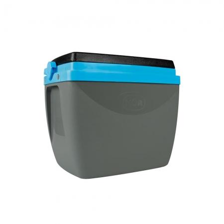 Caixa Térmica 18L Cinza com Azul