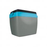 Caixa Térmica 34L Cinza e Azul