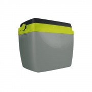 Caixa Térmica 34L Cinza e Verde