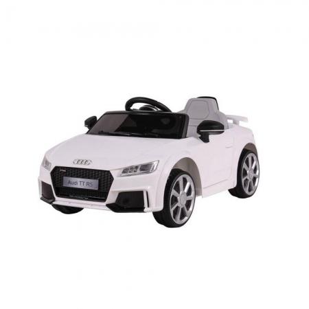 Carro Elétrico Audi TT RS Branco 12V