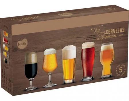 Conjunto Cervejas Especiais 5 Peças
