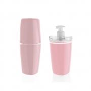 Conjunto de Banheiro Tule Rosa Quartz