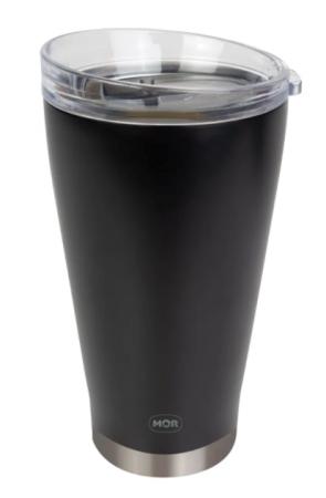 Copo Térmico de Cerveja Preto 700ml