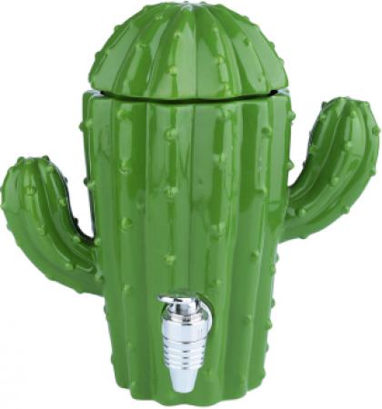 Dispenser Cerâmica Decorativo Cactus With Arms Verde