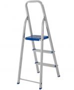 Escada Alumínio 3 Degraus - Uso Domiciliar