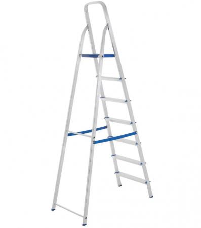 Escada Alumínio 7 Degraus - Uso Domiciliar