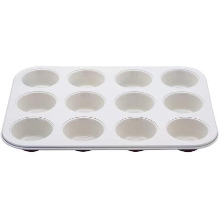 Forma para 12 Cupcakes Revestimento Cerâmico
