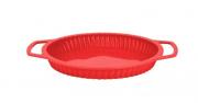 Forma Silicone Aramada para Torta Vermelha