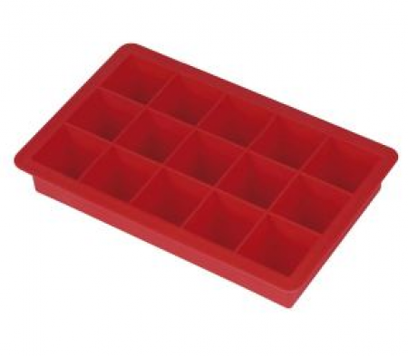 Forma Silicone Gelo 15 Cubos