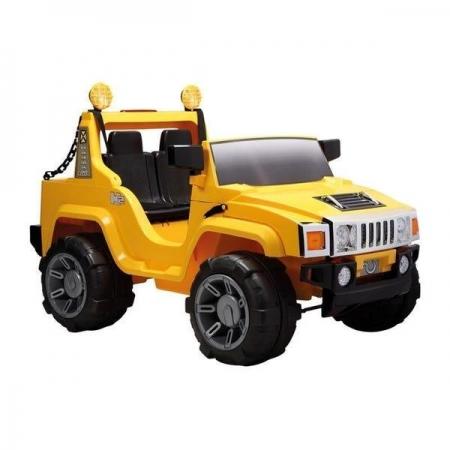 Jipe Elétrico 12V Off Road 2 lugares Amarelo com Controle