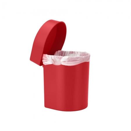 Lixeira de Pia Hide 3,5L Vermelha