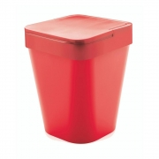 Lixeira Izzy 5L Vermelha
