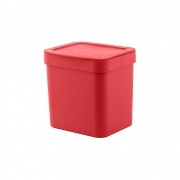 Lixeira Trium 4,7L Vermelha