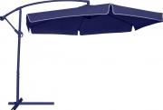 Ombrellone Suspenso Regulável Poliéster 2,50M Azul