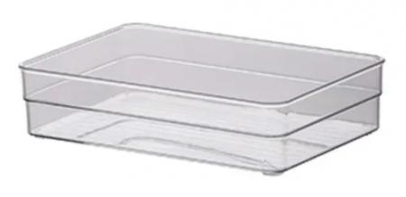 Organizador Transparente 22,5X15X5,2