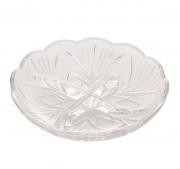 Petisqueira com 4 Divisórias de Cristal Alberta18,5X4cm