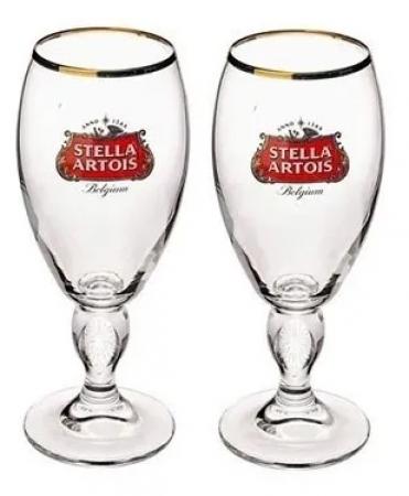 Stella Artois conjunto com 2 Taças 250 ML