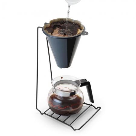 Suporte Completo Para Coador De Café Black