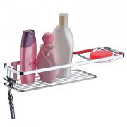 Suporte para Shampoo/Sabonete com Ganchos