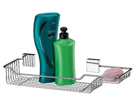 Suporte para Shampoo/Sabonete Inox