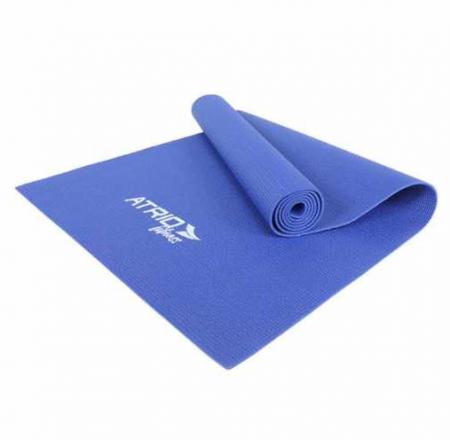 Tapete de Yoga PVC Azul