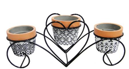 Vaso Decorativo em Cimento